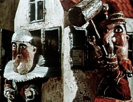 Jan Svankmajer's Punch and Judy (or The Coffin Factory)