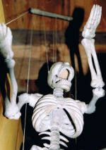 The Skeleton has Meaning Beyond Merely Death Imagery in Czech Puppetry